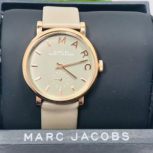 Authentic Marc Jacobs Leather Wristwatch